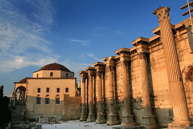 Επίσκεψη στη Βιβλιοθήκη του Αδριανού